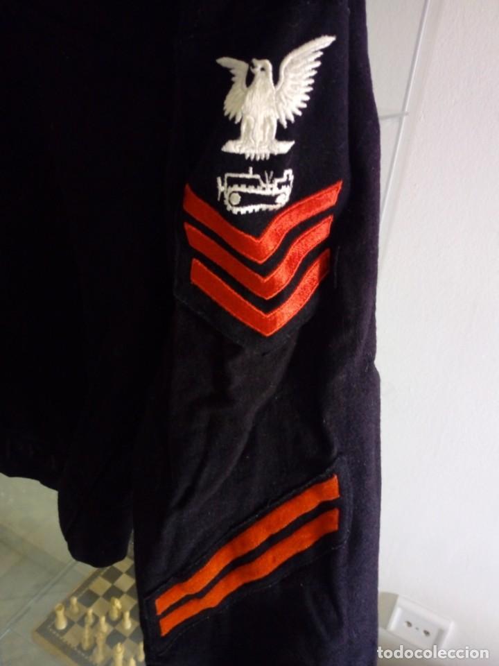 Militaria: Jersey pullover de la us navy guerra de vietnam - Foto 5 - 196491150