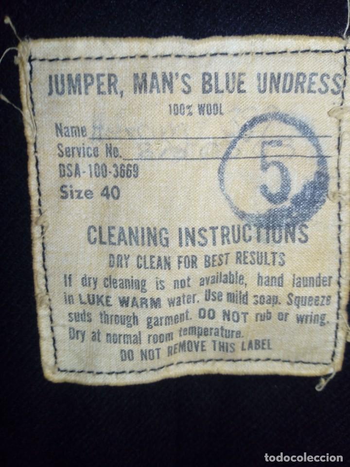 Militaria: Jersey pullover de la us navy sanitario usmc guerra de vietnam - Foto 4 - 196777271