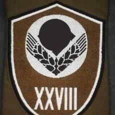 Militaria: PARCHE ORIGINAL RAD DISTRITO 28. Lote 197443528
