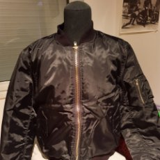 Militaria: BOMBER M1A1, NEGRA TALLA M. Lote 198736045