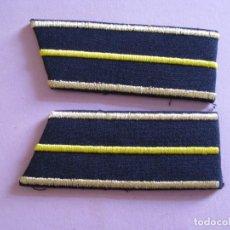 Militaria: PARCHES DE SOLAPAS DEL UNIFORME DE POLICÍA ADUANERA, ADUANAS DE REPÚBLICA ARMENIA.. Lote 199037710