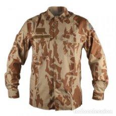 Militaria: CAMISA EJERCITO CHECO DESERT ORIGINAL. Lote 199245462