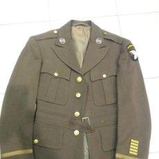 Militaria: GUERRERA PARACAIDISTA AMERICANO US ARMY 101 AIR BORN 2 GUERRA MUNDIAL DESEMBARCO EN NORMANDIA. Lote 202773662