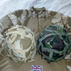 Militaria: LOTE EJERCITO BRITÁNICO.VER DESCRIPCIÓN MK VI CON FUNDA BOSCOSA.VENDIDO.. Lote 203095108