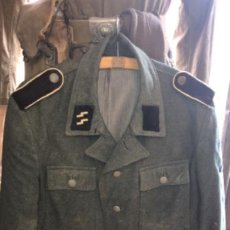 Militaria: JACKET ALEMANA TOTALMENTE ORIGINAL DE LAS SS TROPA MODELO M43 TODO ORIGINAL MUY BUEN ESTADO TALLA L. Lote 203590488