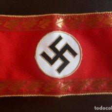Militaria: BRAZALETE DE ALTO CARGO DEL PARTIDO NAZI NSDAP. Lote 205183906