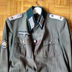 Militaria: ALEMANIA 2ªGUERRA, UNFORME DE OFICIAL INFANTERIA TROPA DE MONTAÑA. Lote 205270175