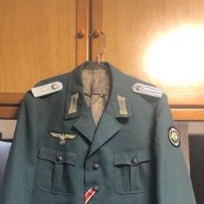 Militaria: JACKET ALEMANA EN TRIKOT TROPAS DE MONTAÑA O GEBIRSJAGER TALLA L COMPLETA. Lote 206401653