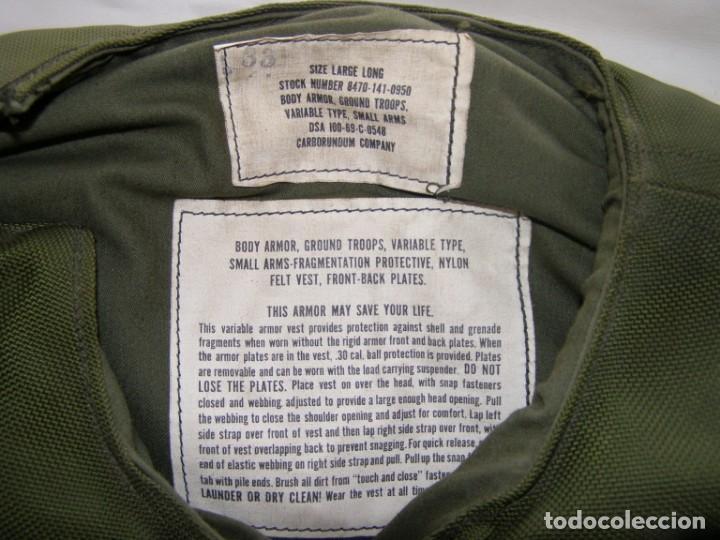 Militaria: Chaleco antifragmentación y antibalas U.S.A., con placas cerámicas de máxima protección. - Foto 2 - 206867283