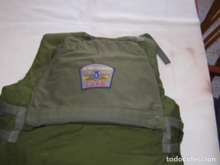Militaria: Chaleco antifragmentación y antibalas U.S.A., con placas cerámicas de máxima protección. - Foto 3 - 206867283