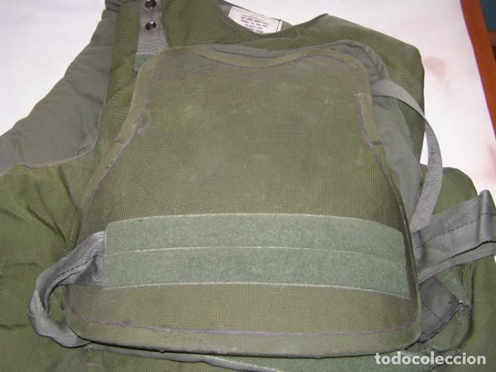 Militaria: Chaleco antifragmentación y antibalas U.S.A., con placas cerámicas de máxima protección. - Foto 8 - 206867283