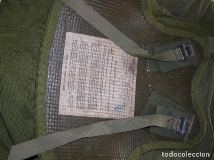 Militaria: Chaleco antifragmentación y antibalas U.S.A., con placas cerámicas de máxima protección. - Foto 9 - 206867283