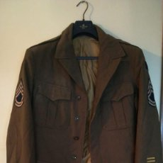 Militaria: ANTIGUA CHAQUETA SARGENTO 1ª USA TALLA 42 II GUERRA. Lote 209198851