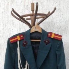 Militaria: CHAQUETA GUERRERA MILITAR TANQUISTA BULGARIA. Lote 210166123