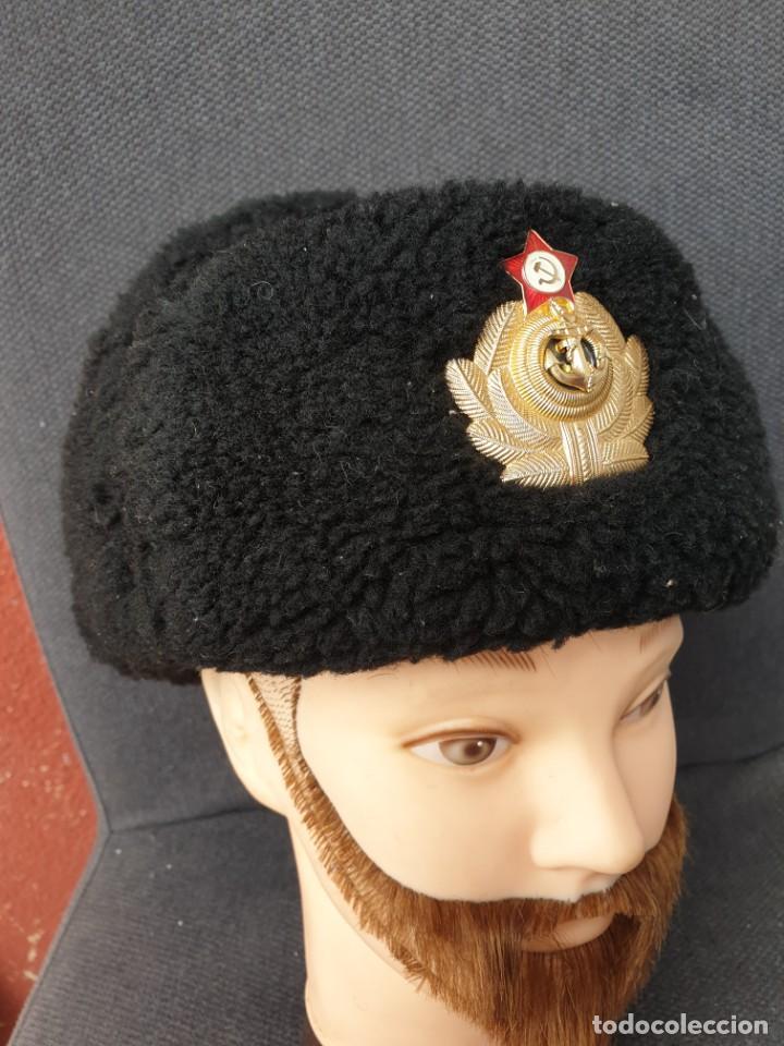 GORRA DE OFICIAL MARINE SOVIETICO. (Militar - Uniformes Extranjeros )