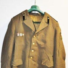 Militaria: CHAQUETA MILITAR SOVIETICA CON INSIGNIAS 1.TROPAS DEL COMUNICASION .SOLDADO RASO.URSS. Lote 210783150