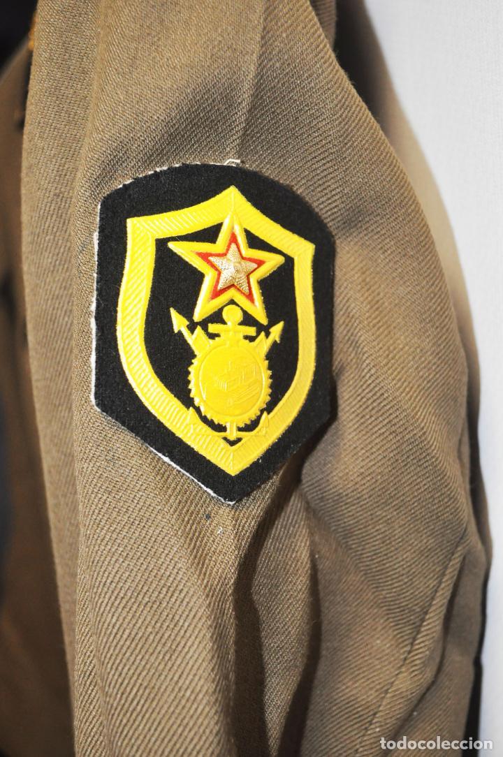 Militaria: Chaqueta militar sovietica con medalla .Soldado raso.URSS - Foto 4 - 210785064
