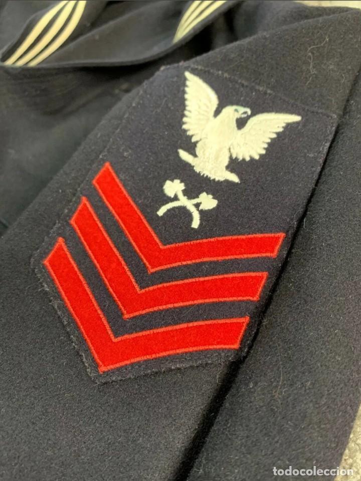 Militaria: WW2. ESTADOS UNIDOS. UNIFORME SARGENTO US NAVY. - Foto 5 - 211674141