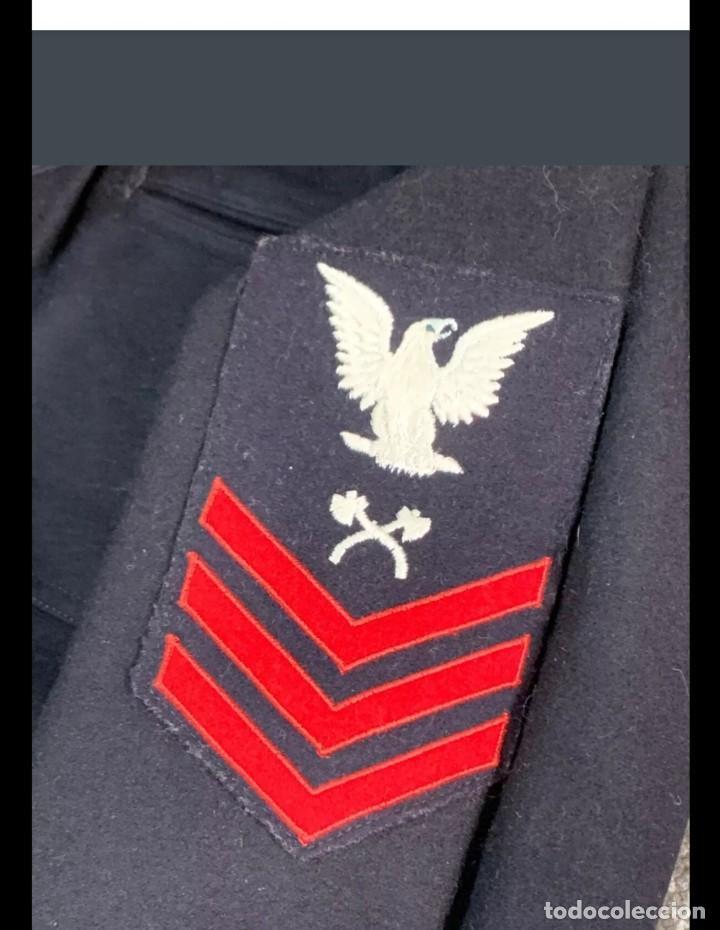 Militaria: WW2. ESTADOS UNIDOS. UNIFORME SARGENTO US NAVY. - Foto 8 - 211674141