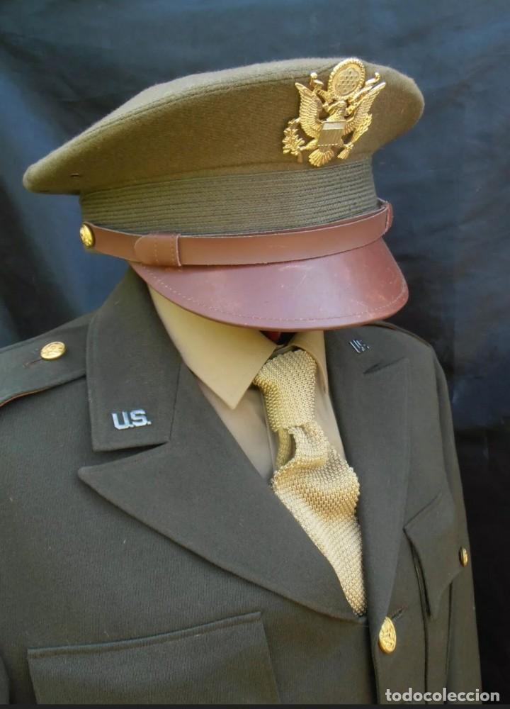 Militaria: WW2. ESTADOS UNIDOS. GUERRERA OFICIAL US ARMY - Foto 2 - 211675250