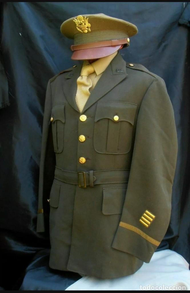 Militaria: WW2. ESTADOS UNIDOS. GUERRERA OFICIAL US ARMY - Foto 3 - 211675250