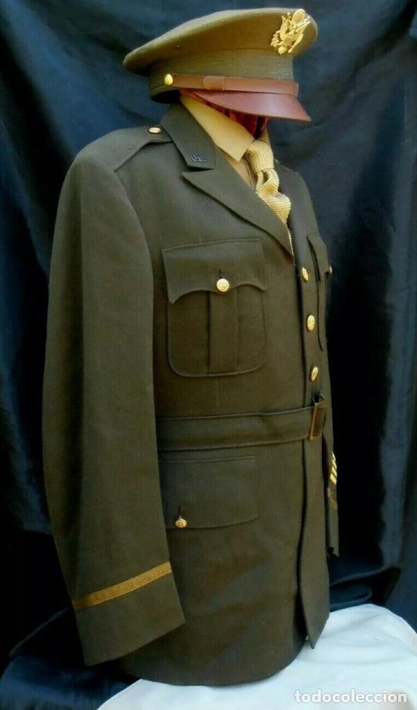 Militaria: WW2. ESTADOS UNIDOS. GUERRERA OFICIAL US ARMY - Foto 9 - 211675250