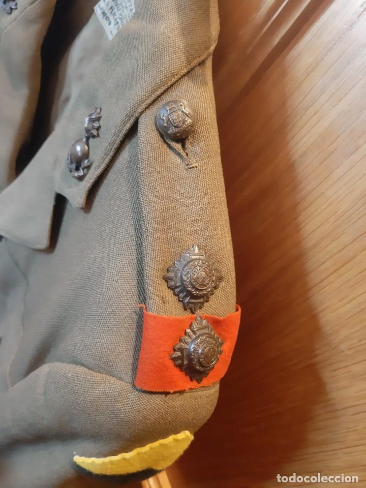 Militaria: WW2. SUDÁFRICA. GUERRERA DE TENIENTE 1 DIVISION DE INFANTERIA.. CAMPAÑA DE ÁFRICA. 1941 1943 - Foto 7 - 211678060