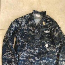 Militaria: UNIFORME US NAVY PIXELADO AZUL. Lote 212894781