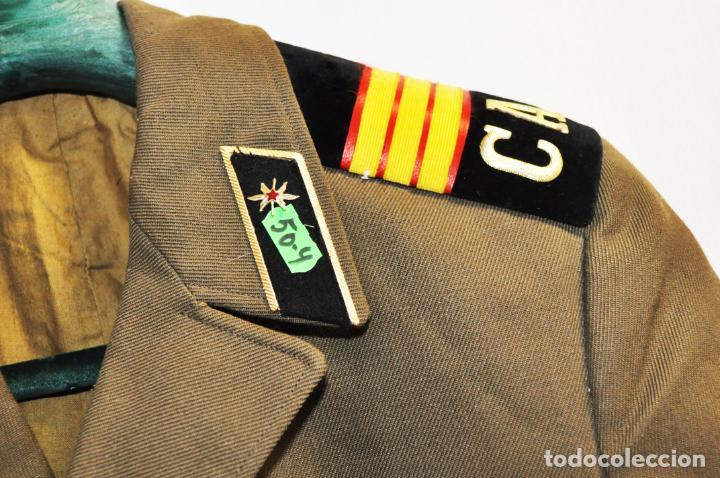 Militaria: Chaqueta militar sovietica con insignias 4.URSS - Foto 3 - 214298197