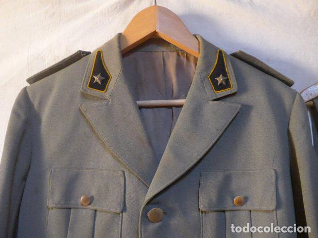 Militaria: Antiguo uniforme italiano de guerra civil o II guerra mundial. Guerrera y pantalon. - Foto 2 - 214861410