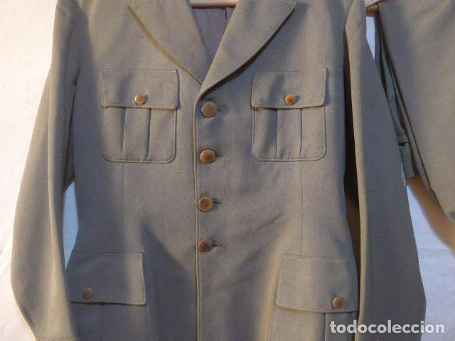 Militaria: Antiguo uniforme italiano de guerra civil o II guerra mundial. Guerrera y pantalon. - Foto 3 - 214861410