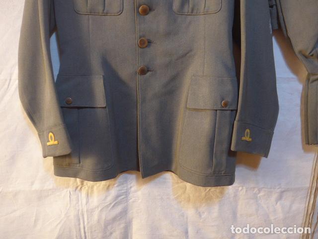 Militaria: Antiguo uniforme italiano de guerra civil o II guerra mundial. Guerrera y pantalon. - Foto 4 - 214861410