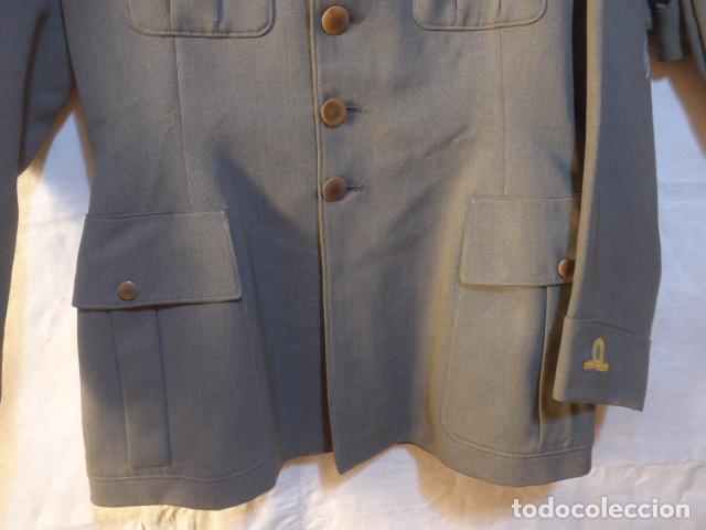 Militaria: Antiguo uniforme italiano de guerra civil o II guerra mundial. Guerrera y pantalon. - Foto 7 - 214861410