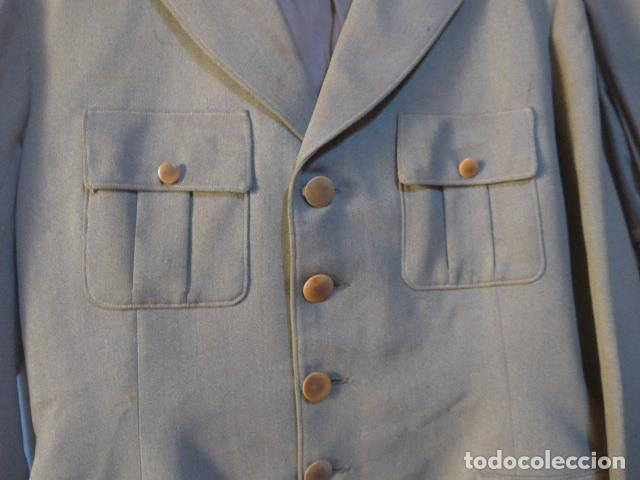 Militaria: Antiguo uniforme italiano de guerra civil o II guerra mundial. Guerrera y pantalon. - Foto 8 - 214861410