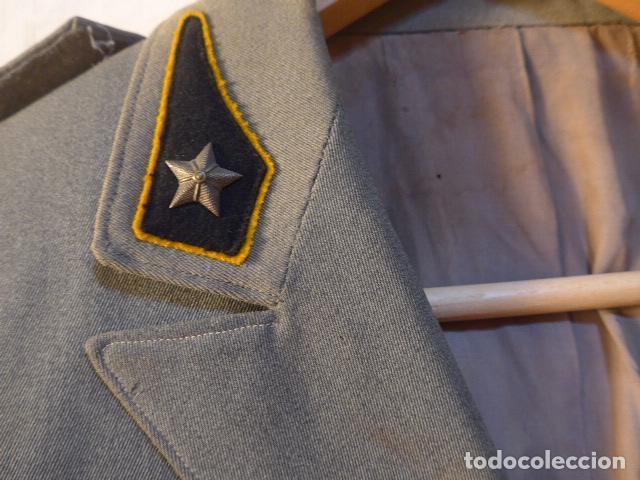 Militaria: Antiguo uniforme italiano de guerra civil o II guerra mundial. Guerrera y pantalon. - Foto 10 - 214861410