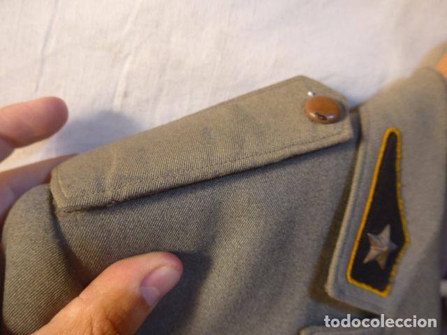 Militaria: Antiguo uniforme italiano de guerra civil o II guerra mundial. Guerrera y pantalon. - Foto 12 - 214861410