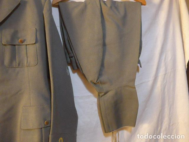 Militaria: Antiguo uniforme italiano de guerra civil o II guerra mundial. Guerrera y pantalon. - Foto 14 - 214861410