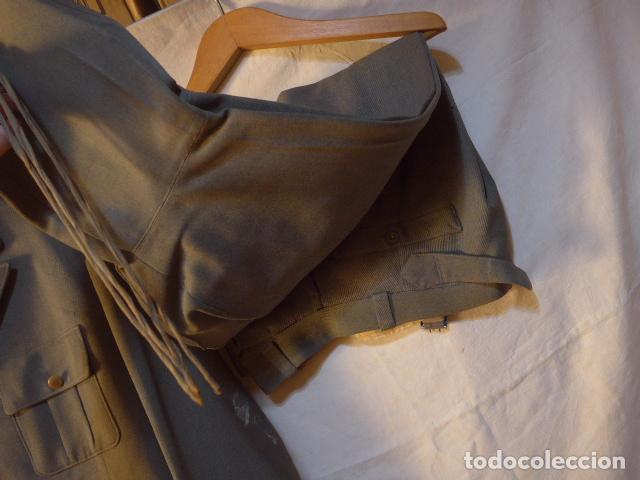 Militaria: Antiguo uniforme italiano de guerra civil o II guerra mundial. Guerrera y pantalon. - Foto 16 - 214861410