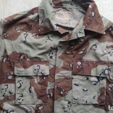 Militaria: GUERRERA UNIFORME US ARMY DESERT BATTLE DRESS CAMUFLAJE ARIDO GUERRA DEL GOLFO. Lote 215811530