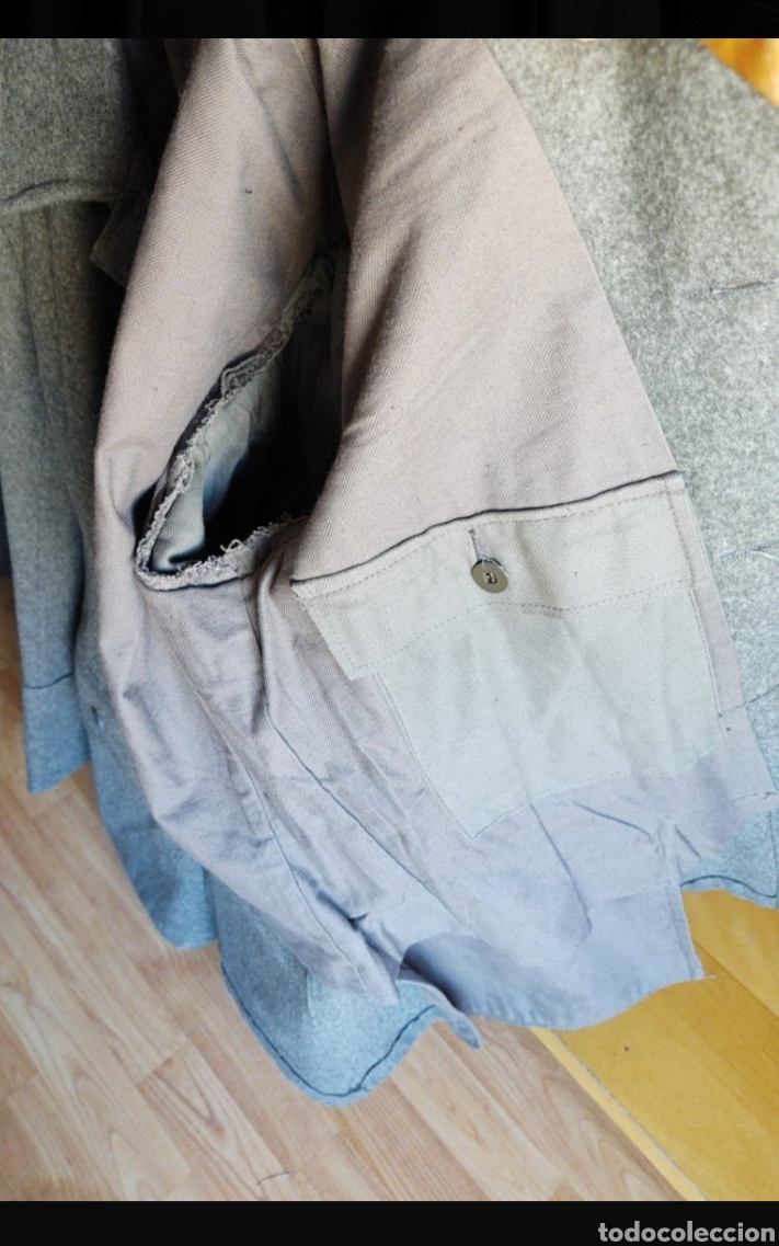 Militaria: chaqueta Sueca. Talla M-L. Año 1953. Bolsillos traseros. - Foto 2 - 215914420