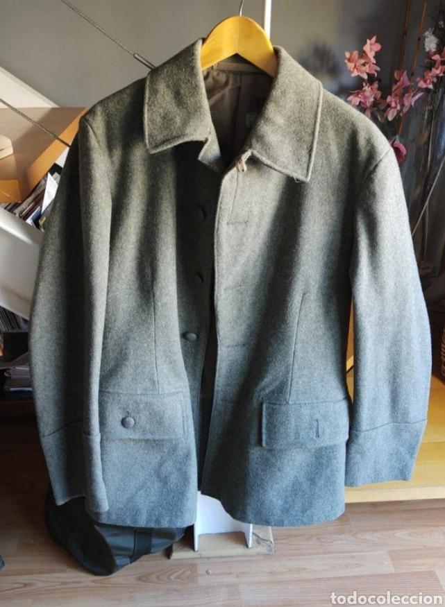 Militaria: chaqueta Sueca. Talla M-L. Año 1953. Bolsillos traseros. - Foto 4 - 215914420