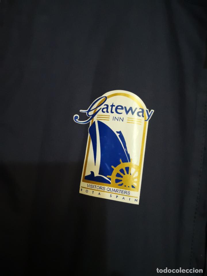 Militaria: USN. US NAVY. CHALECO SIN MANGAS DEL GATEWAY DE LA BASE NAVAL DE ROTA. Original - Foto 2 - 217391318