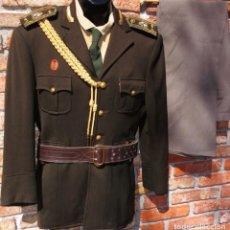 Militaria: URUGUAYAN ARMY GENERAL'S UNIFORM OF PRESIDENT'S MILITARY HOUSE AIDE LATE 1940S UNIFORME DE GENERAL. Lote 218015151