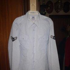 Militaria: USAF. US AIR FORCE. CAMISA DE MANGA LARGA DE SERVICIO.. Lote 221489673