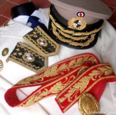 Militaria: UNIFORME DE GALA TENIENTE GENERAL EJERCITO URUGUAY ARMY LIEUTENANT GENERAL DRESS UNIFORM. Lote 222044495