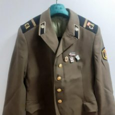 Militaria: CHACETA MILITAR SOVIÉTICA CON INSIGNIAS.ENGINYERIA MILITAR,TALLA -50.. Lote 224217265