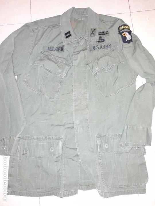 Militaria: Guerrera de jungla vietnam 101° Airborne Original - Foto 2 - 225077865
