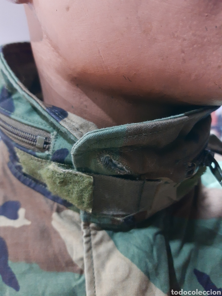 Militaria: Chaqueta M65 US Army Woodland M española - Foto 4 - 234914825