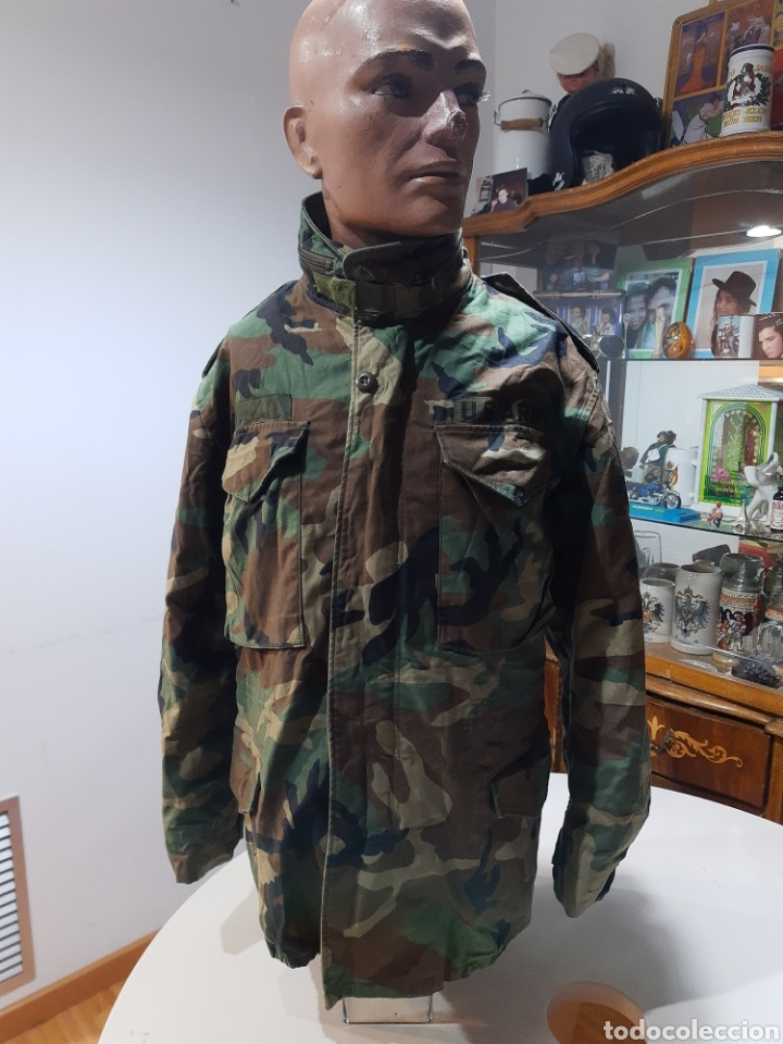 CHAQUETA M65 US ARMY WOODLAND M ESPAÑOLA (Militar - Uniformes Internacionales)