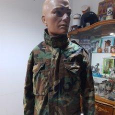 Militaria: CHAQUETA M65 US ARMY WOODLAND M ESPAÑOLA. Lote 234914825